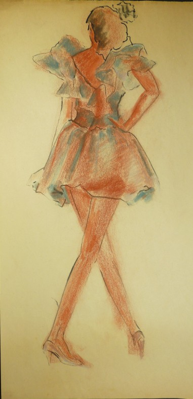 fashion drawing 1