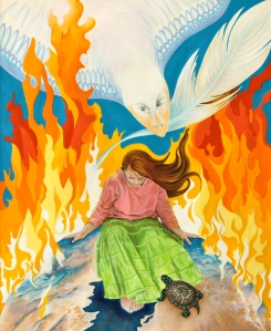 Gaia In The Fire